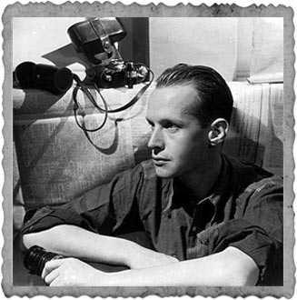 Henri Cartier Bresson, joven fotógrafo francés