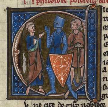 COLOR ÍNDIGO en la ilustración de libros antiguos, arte pictórico, imagen