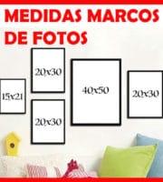 Medidas marcos de fotos
